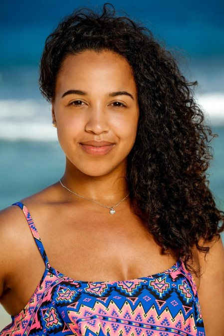 Julia Carter competes on SURVIVOR: Edge of Extinction when the Emmy Award-winning series returns for its 38th season, Wednesday, Feb. 20 (8:00-9:00PM, ET/PT) on the CBS Television Network. Photo: Robert Voets/CBS Entertainment ©2018 CBS Broadcasting, Inc. All Rights Reserved.