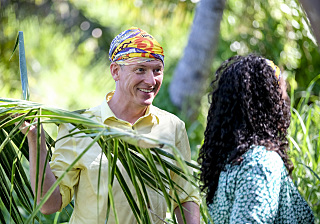 """It Smells Like Success"" - Ron Clark on the premiere of SURVIVOR: Edge of Extinction, Wednesday, Feb. 20 (8:00- 9:00 PM, ET/PT) on the CBS Television Network. Timothy Kuratek/CBS Entertainment ©2018 CBS Broadcasting, Inc. All Rights Reserved."